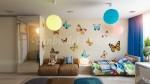 çocuk odaları için duvar sticker