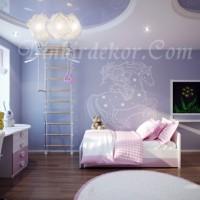 çocuk odası duvar dekorasyonu