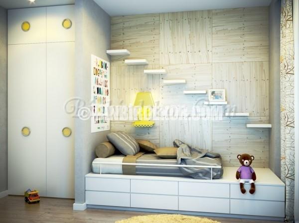çocuk odası duvar rafları