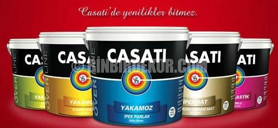 Casati Boya iç cephe renkleri 2014