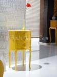 yatak odası sarı komidin modelleri