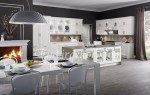 beyaz mutfak modelleri prene