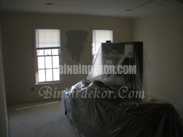 ev boyamadan önce