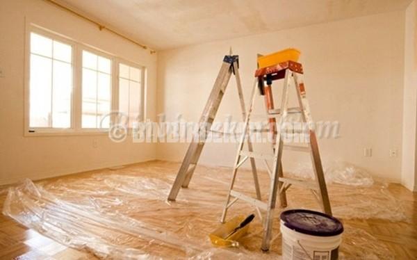 ev boyamaya hazırlık