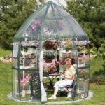 Bahçe tutkunlarına dekoratif ev seraları