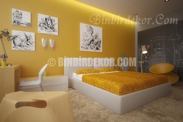 Limon sarısını duvarlarınızda deneyin