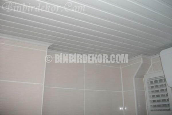 Banyolar için PVC tavan kaplama