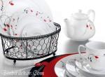 en güzel kahvaltı takımları kütahya porselen