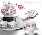 porselen kahvaltı takımı kütahya porselen