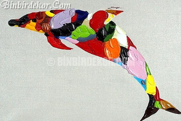 Modern yağlı boya tablolar
