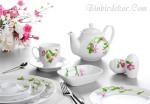 yeni kahvaltı takımı modelleri kütahya porselen