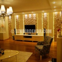 Haberler » Tv Arkası Dekorasyon Modelleri | TRTEX