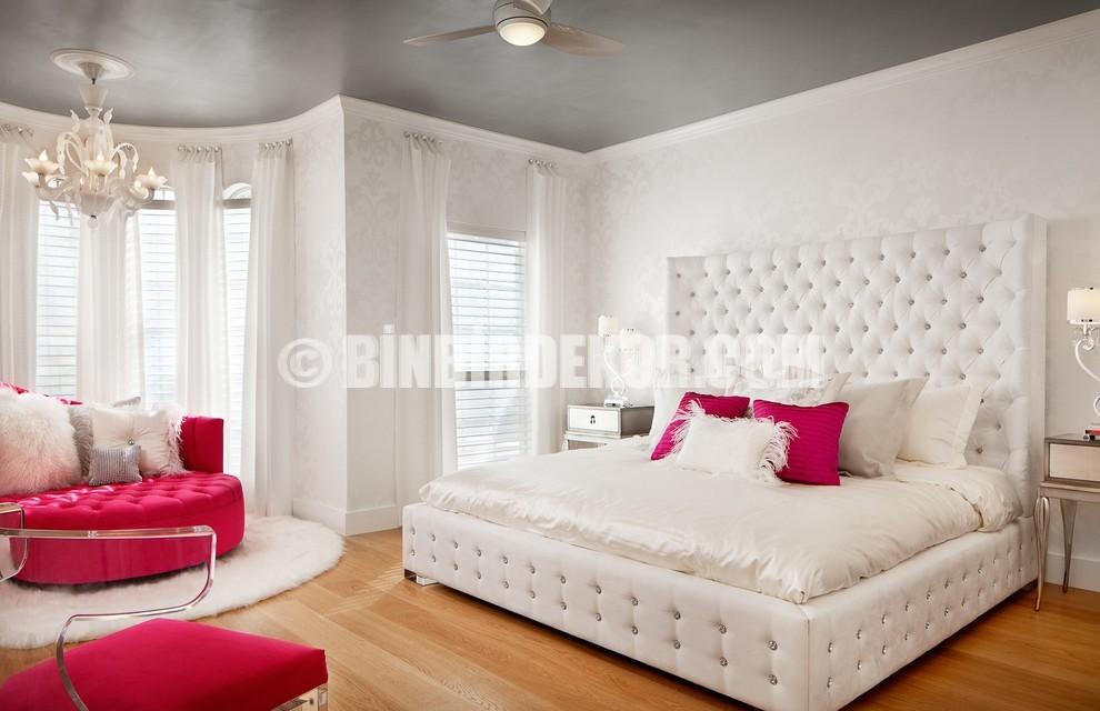 Yatak Odalarında Beyaz Zarafeti