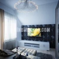 TV Arkası Duvar Kağıtları ile Dekorasyon > Kolay Dekor