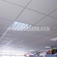 Taş Yünü Asma Tavan Sancak Zemin – PVC Zemin Kaplama