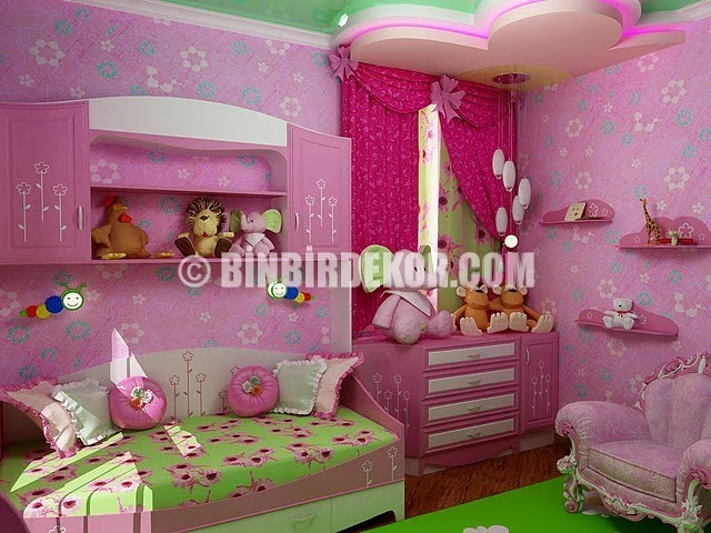 Dar çocuk odaları için dekorasyon önerileri