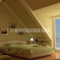 ... çatı katı dekorasyonları, çatı katı dekorasyonu, çatı katı