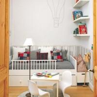 küçük çocuk odası dekorasyonu