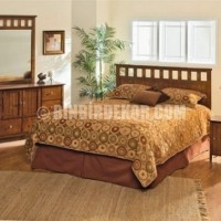 Exotic Bedroom Decoration Ideas With Wooden Furniture Sets