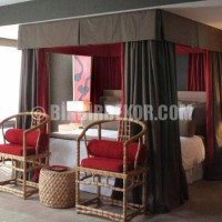 Interior Decoration: Red, an exotic color and design decorations