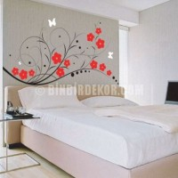 Beautiful Bedroom Stickers Which You Can Use for Wall Decoration Ideas