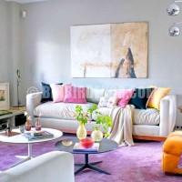 lila renkli oda renk dekorasyonları lila lila rengi oda dekorasyon