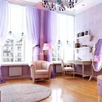 lila renkli oda renk dekorasyonları lila lila rengi oda dekoru