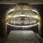 Yatak Başı Taş Duvar Dekorasyonu
