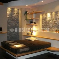 Natural stone trends for natural house interior concept