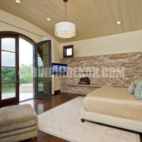 ... Stone Wall Bedroom And Stone Accent Wall Bedroom ~ serpih.com Bedroom