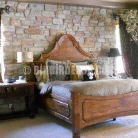 This impressive briliant decoration rustic bedroom stone wall we think ...