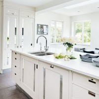 Timeless white kitchen