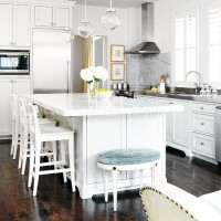 Another Gorgeous White Kitchen...