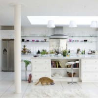 White modern kitchen | Kitchen design | Decorating ideas | Image ...