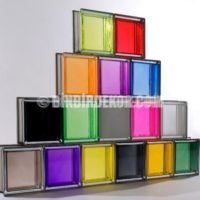 ... Aksesuar » Modern Cam Tuğla Modelleri » Renkli Cam Tuğla Tasarım