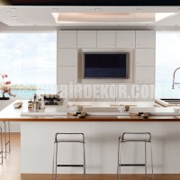 Lovely White Kitchen listed in: modern Kitchen Cabinets modern Kitchen ...