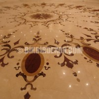 Modern marble flooring designing ideas.