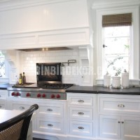 This is one of my favorite White Kitchen LOOKS. White and White subway ...