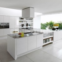 Home » Kitchen Designs from Euromobil » Alineal White Kitchen Design ...
