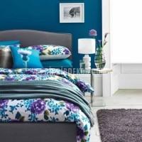 Harika mor mavi dekorasyon fikirleri salon oturma yemek yatak odasi koltuk Dizaynları