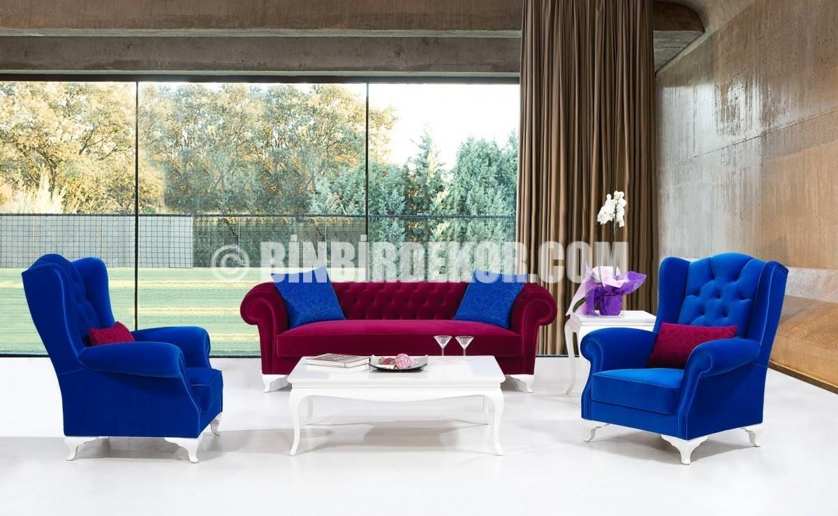 Modern Avangard Salon Dekorasyonları