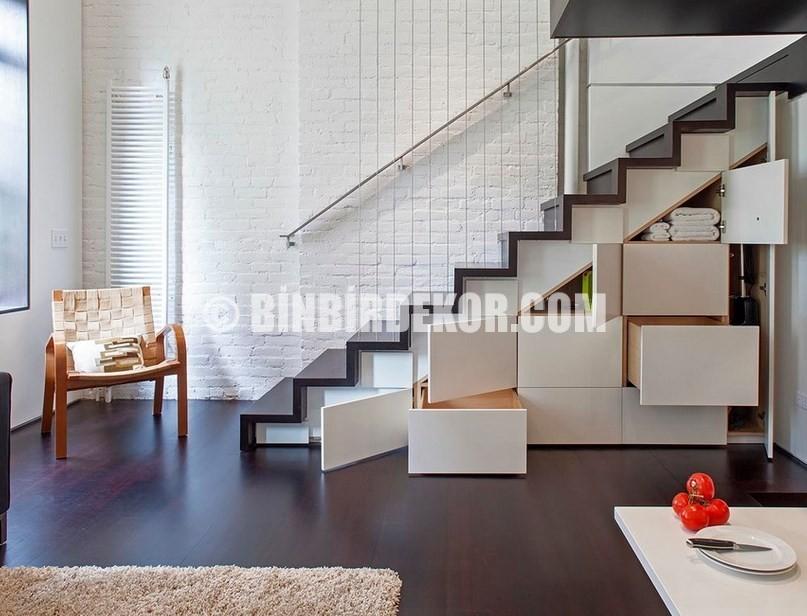 Zekice Tasarlanmış Merdiven Dekorasyonları