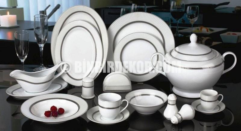 2015 Porselen Yemek Takımları Modelleri (Remetta)