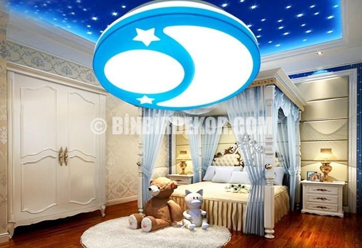 Çocuk Odası Tavan Dekorasyon Örnekleri