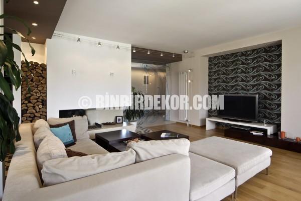 Moderne Wohnzimmer Dekoration Beispiele 2016 › Binbir Dekor