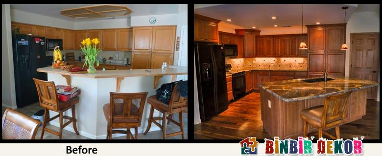 Kitchen Decorating Ideas 2016 Kitchen Decorating Before And After Binbir Dekor