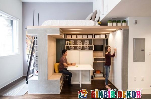 Dar Evler İçin Mobilya Modelleri Fonksiyonel Mobilya Tasarımları 2016