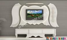 İnanılmaz Güzel TV-Duvar Ünitesi Tasarımları (Evgör)