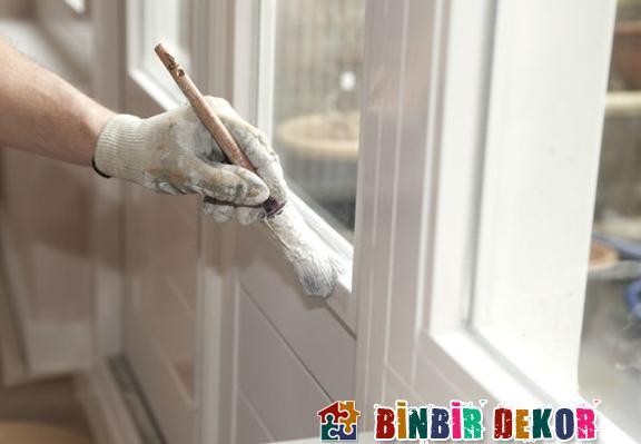 mutfak pencere ve kapı boyama önerileri mutfak dekorasyon tavsiyeleri