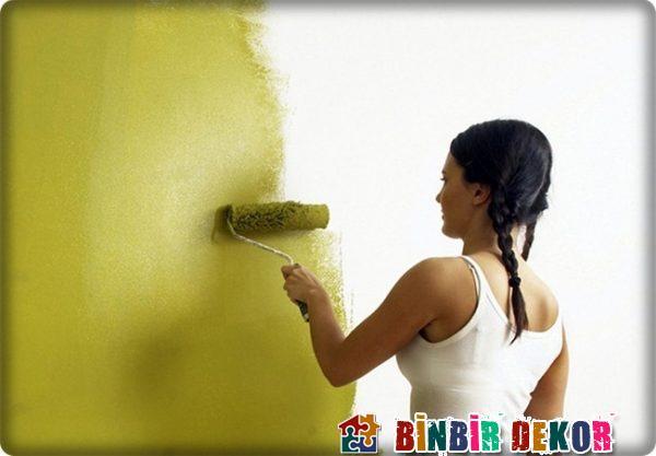 Duvarlar Nasıl Boyanır Binbirdekor.com Duvar Boyama Tavsiyeleri